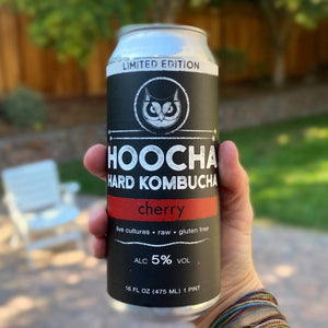 Limited Edition Cherry Hard Kombucha 4-Pack, 16 oz. Cans