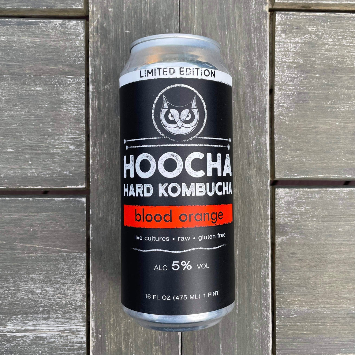 Limited Edition Blood Orange Hard Kombucha 4-Pack, 16 oz. Cans