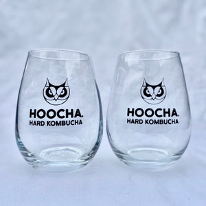 Hoocha Hard Kombucha Glasses
