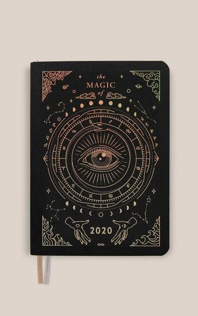 Magic of I - 2020 Mini Astrological Planner (Black)