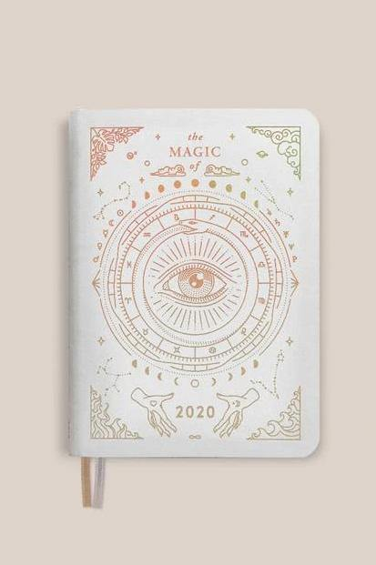 Magic of I - 2020 Mini Astrological Planner (White)