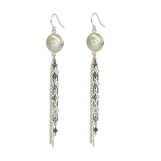 Jellyfish Earrings - Pearl
