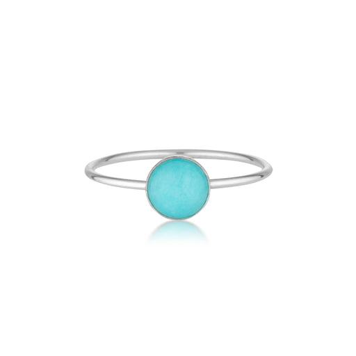 Amazonite Ring - Silver