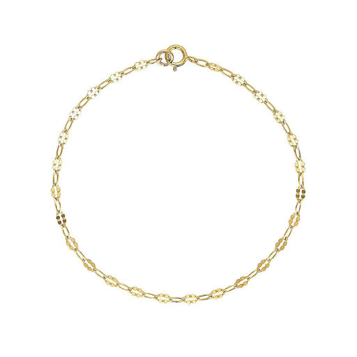Gold Shield Bracelet