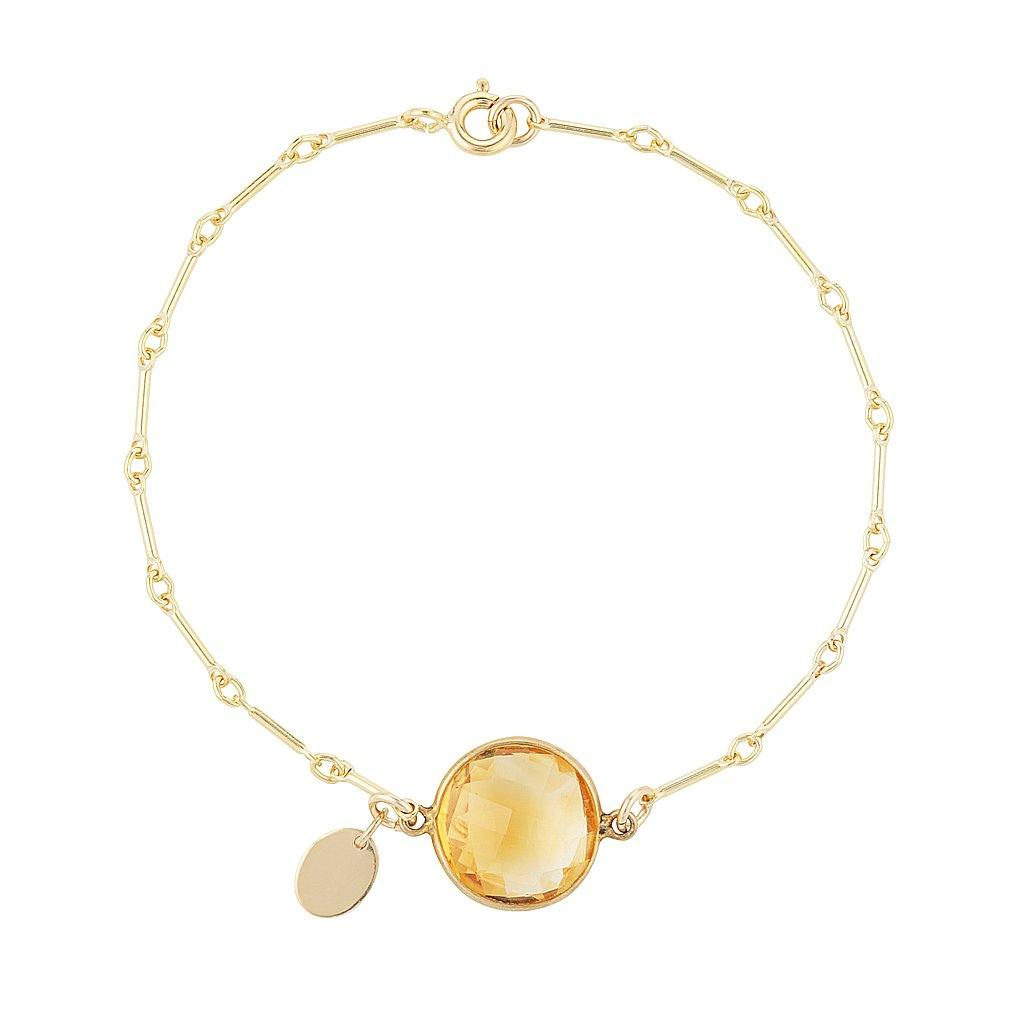 Citrine Connector Bracelet
