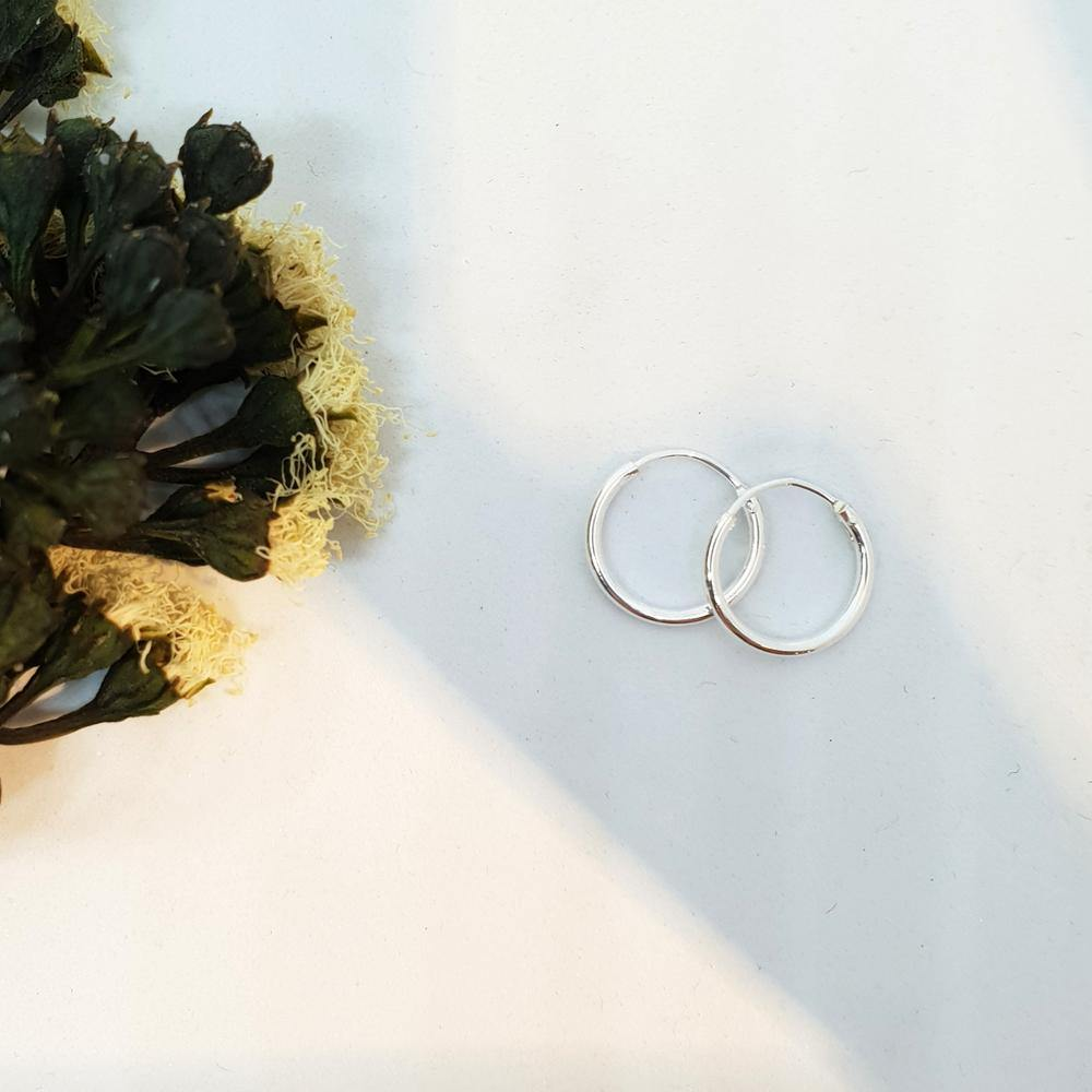 Mini Endless Hoop Earring
