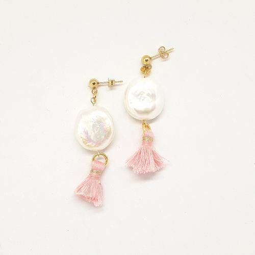 Bespoke Pearl and Tassel Earrings