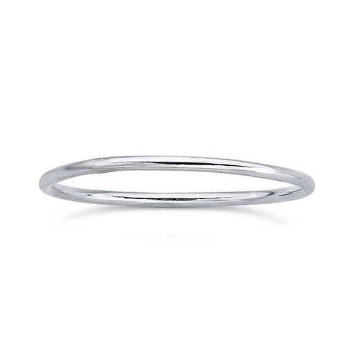 Fine Silver Stack Band