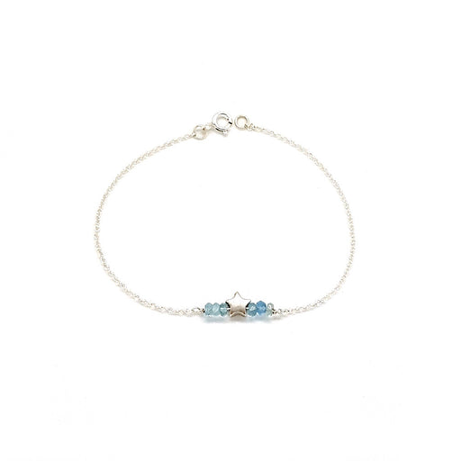 Star Bright Bracelet - Aquamarine