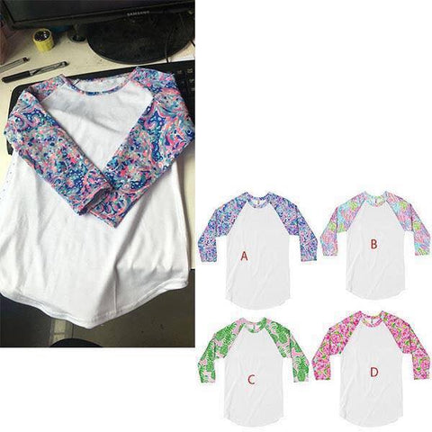 Patterned Raglans