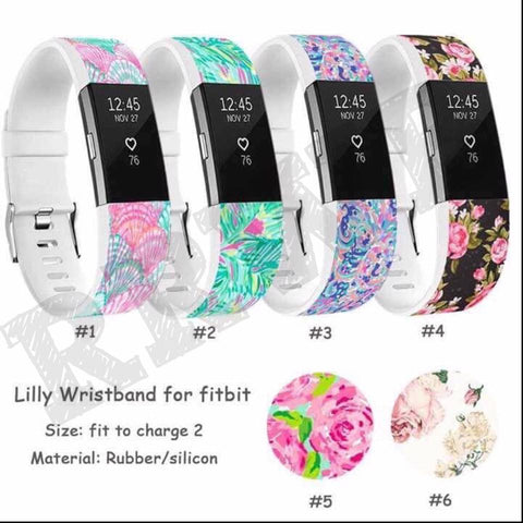 Floral Band for FitBit Charge2