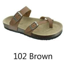 Outwoods Sandals (#102 Brown)