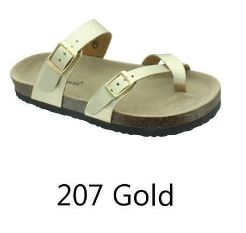 Outwoods Sandals (#207 Gold)