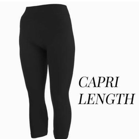 Leggings - Capri Length (One Size Fits Most)