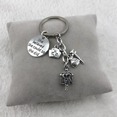 Nurses Key Chain
