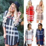 Reese Plaid Dress