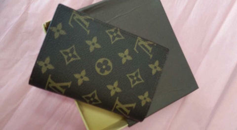 LV Insp Genuine Leather Passport Holder