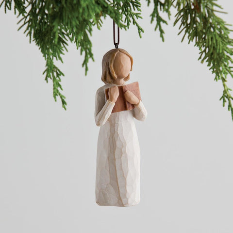WILLOW TREE®️, Love of Learning Ornament