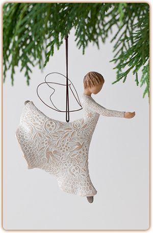 WILLOW TREE®️, Dance of Life Ornament