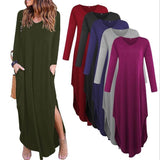 Long Sleeve Knot Dress