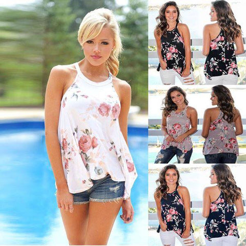 Floral Tank Top (PRE-ORDER Closing 4/22/18)