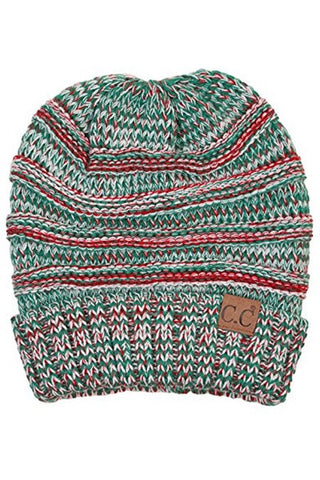 C.C. Beanie - CHRISTMAS Slouchy Hat