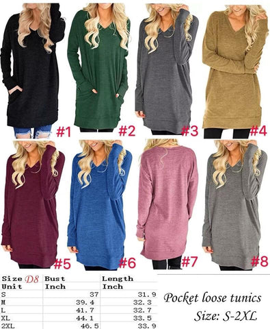 Lola Pocket Tunic