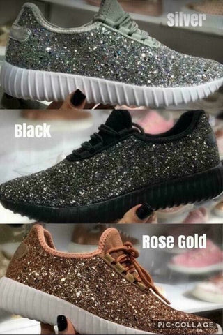 Adult Glitter Shoes