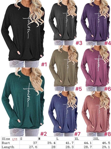 Faith Pocket Tunic Shirt