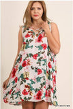 UMGEE Floral Sleeveless Dress