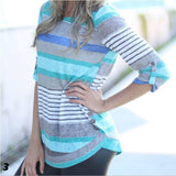 Penny Spring Stripe Button Tunic