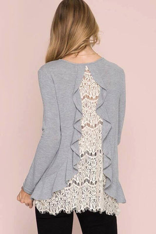 Lace Tower Top 2