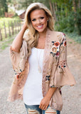 Chloe Floral Lace Cardigan