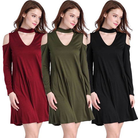Choker Tunic Dress