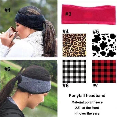 Ponytail Headband