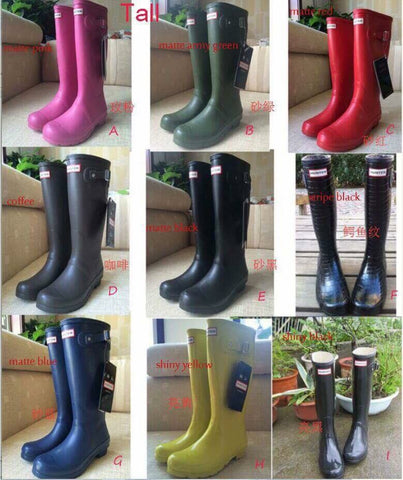 Tall Rainboots*