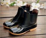 Short Slip On Duck Boots