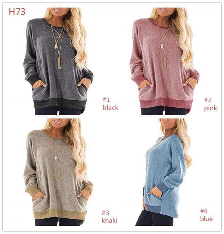 Morgan Long Sleeve Pocket Top