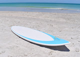 "CAM Fiber 63"" Fiberglass Skimboard with 2 FREE SkimShots™ & Double-Up Bungee"