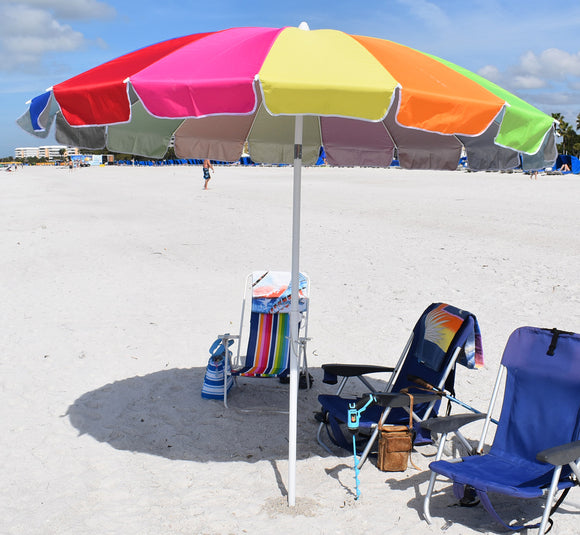 8' Deluxe Beach Umbrella