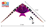 LED Rocket Kites™ - Fish Kite with 48 LED Lights