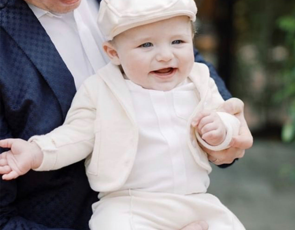 The Perfect Spring Suit | Miles Natural Baby Suit
