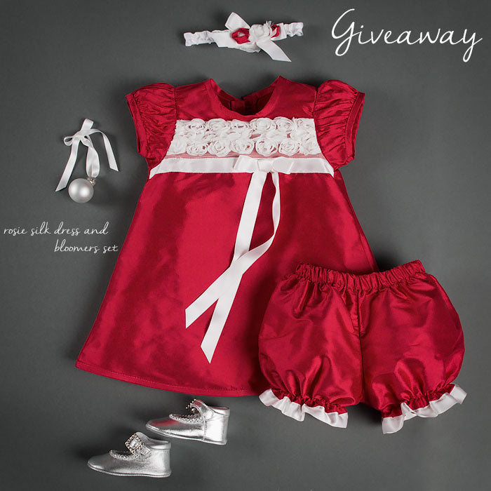 ROSIE SILK DRESS GIVEAWAY!