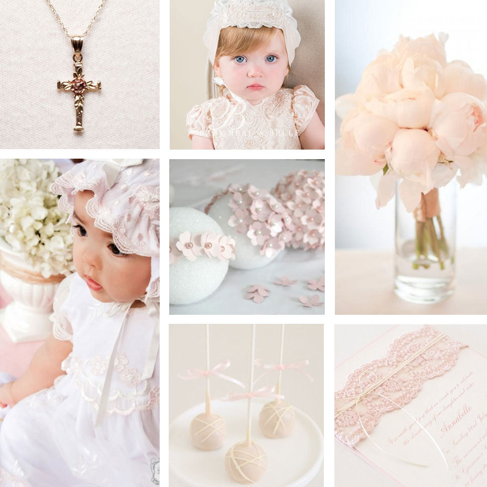 NOW PINNING: FLORAL AND PINK BAPTISM DECOR