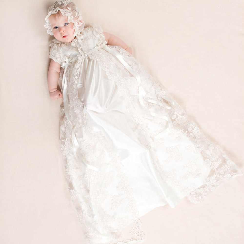 How Long Should a Christening Gown Be?