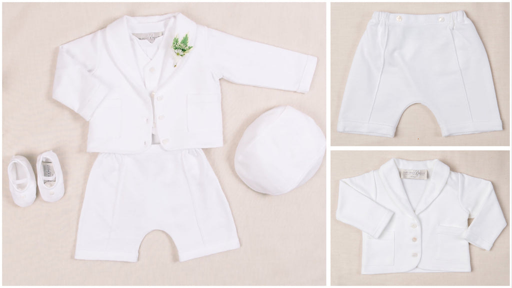 Boys blessing suit for summer