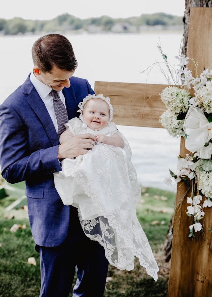 Lace Heirloom Baptism Gown