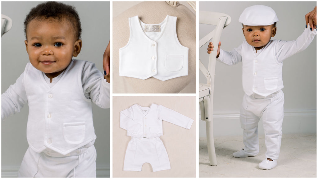 Christening baby clothes