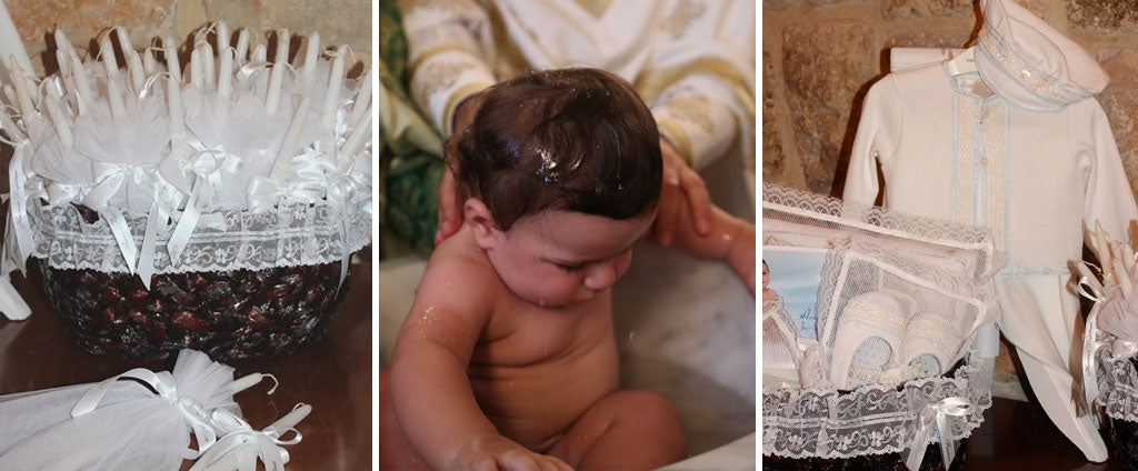 Joe-Ziad's Christening Photos | Harrison 3-Piece Christening Suit