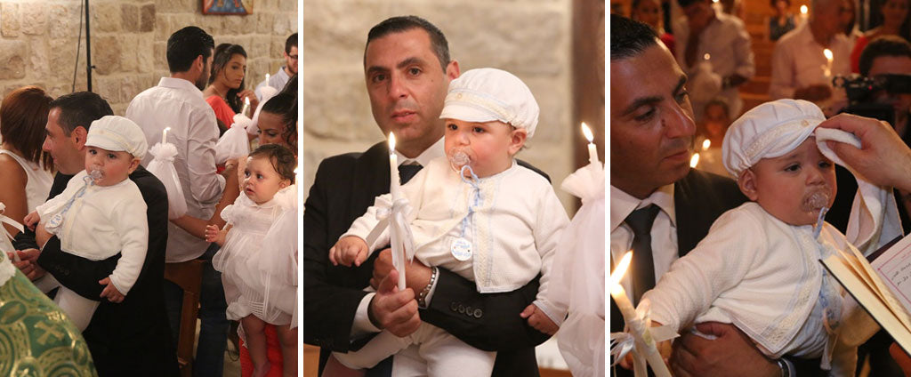 Joe-Ziad's Christening in Harrison 3-Piece Suit